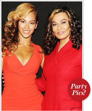 Beyoncé and Her Mom Match at the Super Bowl, Plus More Parties!