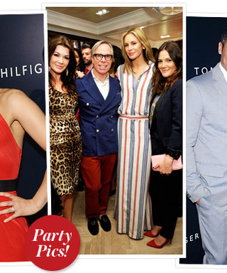 Tommy Hilfiger's L.A. Flagship Opening: Jessica Alba, Drew Barrymore, Alicia Keys, and More!