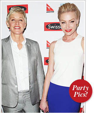 Ellen and Portia Celebrate in Sydney, Plus More of the Week's Parties!