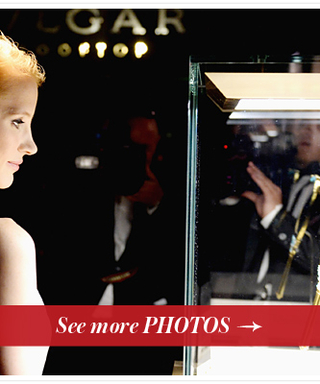 Inside the Bulgari and Cleopatra 50th Anniversary Reception With Jessica Chastain
