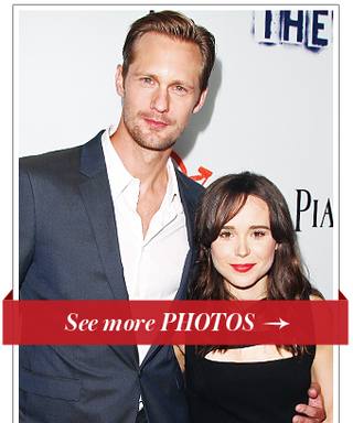 Alexander Skarsgard and Ellen Page Premiere The East in Hollywood