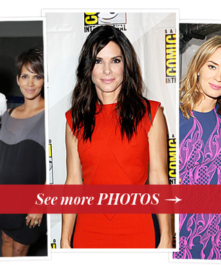 Halle Berry, Jennifer Lawrence, Sandra Bullock and More Heat Up Comic-Con 2013