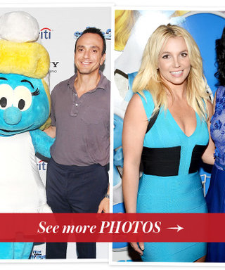 Katy Perry, Britney Spears and Christina Ricci Celebrate The Smurfs 2 From Coast to Coast