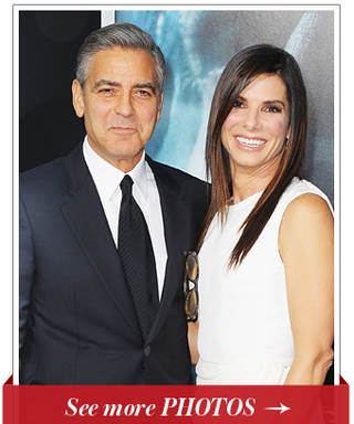 George Clooney and Sandra Bullock Premiere Their New Space Thriller, Gravity in New York City