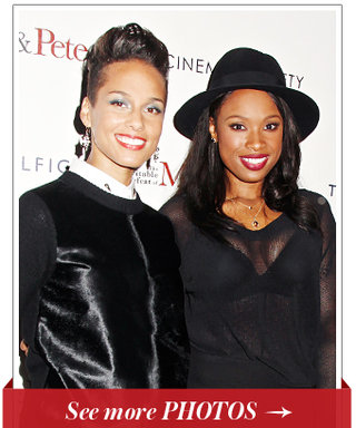 Alicia Keys and Jennifer Hudson Came Together For the NYC Premiere of Their Film, The Inevitable Defeat of Mister & Pete