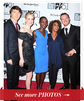The Cast of 12 Years a Slave Visits New York City to Premiere At The New York Film Festival