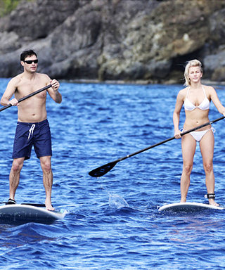 Julianne Hough's Paddleboarding Bikini Look