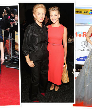 Happy Birthday, Carolina Herrera! See Stars Who Love Her Looks