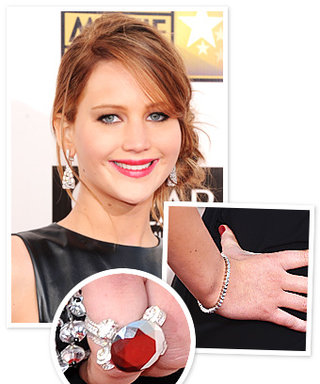 Critics' Choice Movie Awards Style Moment: Jennifer Lawrence's Chopard Jewelry