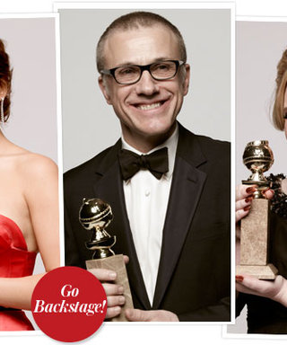 Golden Globes 2013 Exclusive: See the Stars Backstage!