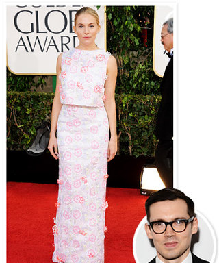 "Sienna Miller at the Golden Globes: ""Erdem Is The Hottest Young English Designer"""