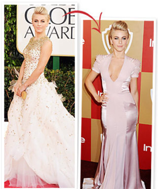 Golden Globes 2013: Vote For Your Favorite of Julianne Hough's Two Gowns