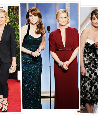 Golden Globes 2013: All About Tina Fey and Amy Poehler's Looks