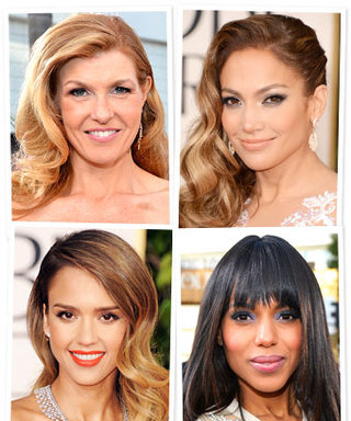Try On The Prettiest Golden Globes Hairstyles