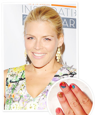 Busy Philipps's Mod Manicure: Here's How To Get the Look!