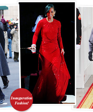 The 2013 Presidential Inauguration: See What Everyone Wore!