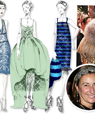 Miuccia Prada Reveals Four of Her Sketches for The Great Gatsby