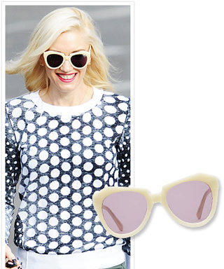 Found It! Gwen Stefani's Blond Sunglasses