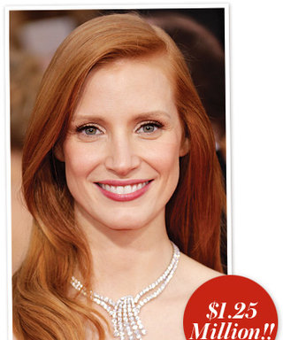 SAG Awards 2013: Jessica Chastain's $1.25 Million Harry Winston Necklace
