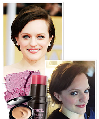 SAG Awards 2013: In the Makeup Chair with Elisabeth Moss!