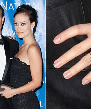 Olivia Wilde's Engagement Ring: A Big Photo for a Big Rock