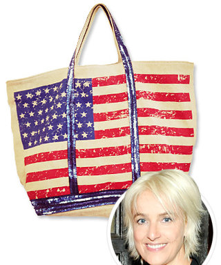 Vanessa Bruno Salutes America With This Limited-Edition Sequin Flag Bag