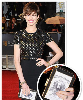 Anne Hathaway's Fashion Tribute to Les Miserables: Her Clutch!