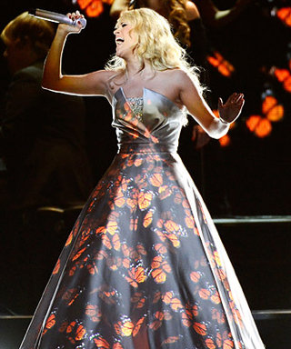 Carrie Underwood's Grammys 2013 Performance Dress: All the Details!