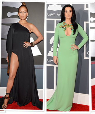 Grammys 2013 Red Carpet: The Celebrities Who Didn't Tone It Down