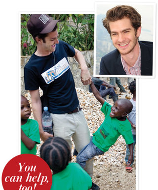 Spider-Man's Andrew Garfield Is a Real-Life Hero for the Worldwide Orphans Foundation