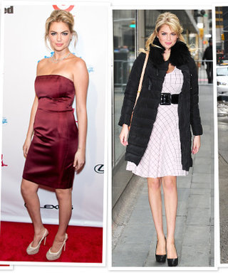 Yes, S.I. Covergirl Kate Upton Looks Great in a Bikini, But See Her Cocktail Dresses
