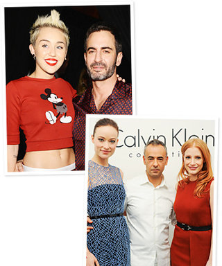 See Fashion Week's Celebrity Fans: Miley Cyrus, Jessica Chastain, and More