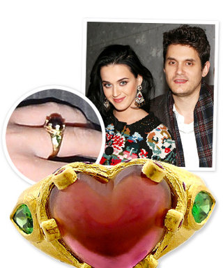 Exclusive Details about Katy Perry's New Ruby Ring on Her Left Ring Finger: From the Jeweler!