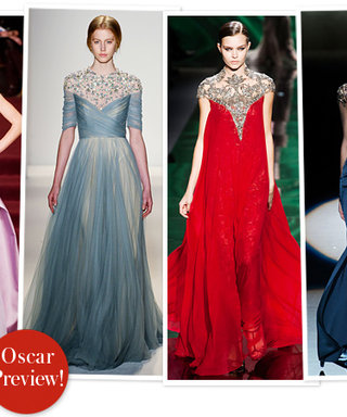 Designers Pick Oscars Gowns from Their Fall 2013 Collections