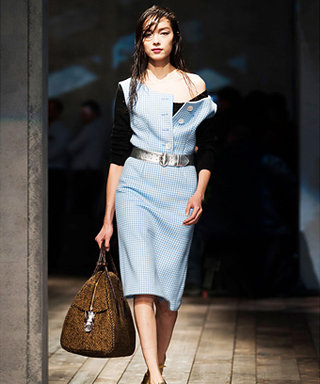 Why InStyle Loved Prada's Disheveled Chic for Fall