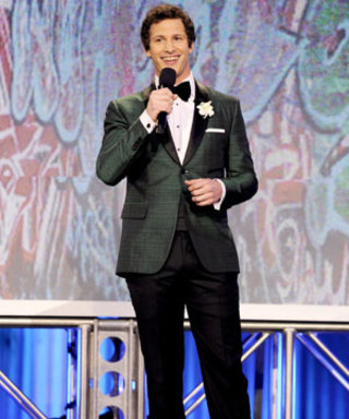 Andy Samberg's Very Dapper Moment Hosting the Film Independent Spirit Awards