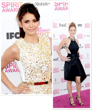 Nina Dobrev Says What We're All Thinking: She's Looking Forward to Jennifer Lawrence's Oscars Red Carpet Moment