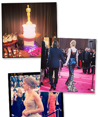 Oscars 2013: More Behind-the-Scenes Instagrams from InStyle!