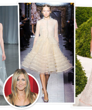Jennifer Aniston's Wedding Dress: InStyle's Predictions!