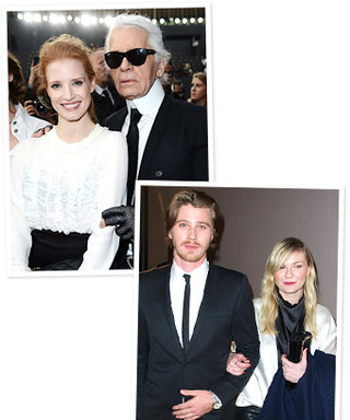 Stars at Paris Fashion Week: Jessica Chastain, Kirsten Dunst, and More
