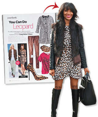 Inspired by InStyle: Wild for Leopard