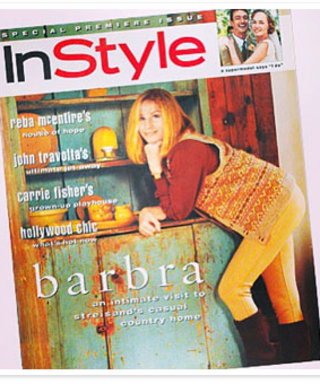 It's #ThrowbackThursday! See InStyle's First Cover Girl, Barbra Streisand