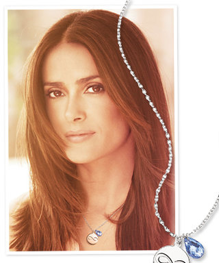 Salma Hayek's New Favorite Accessory: A $5 Necklace That Supports Domestic Abuse Awareness Programs