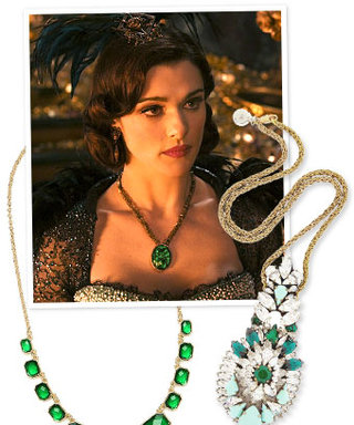 Emerald Necklaces Inspired by Oz the Great and Powerful