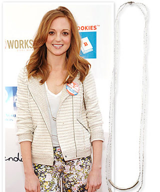 "Jayma Mays' Raven + Lily Necklace: ""Getting the Word Out"" for Women's History Month"