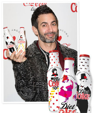 These Are the Diet Coke Bottles Marc Jacobs Designed