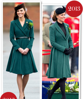 Kate Middleton's St. Patrick's Day Style: She Wore Her Green Emilia Wickstead Coat Again, Plus Baby News!