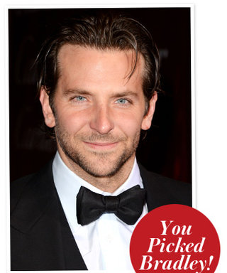 Results Are In! You Picked Bradley Cooper Over Channing Tatum as Hollywood's Hottest