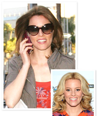 Elizabeth Banks: Back to Brown Hair! Do You Like Her Darker Look?