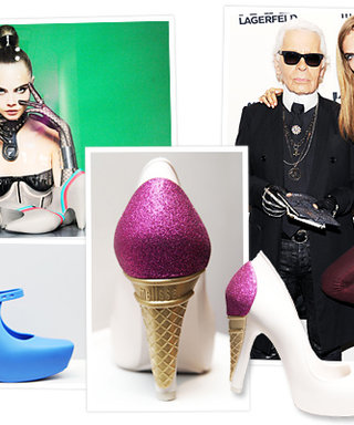 Karl Lagerfeld's Ice Cream-Inspired and Plastic Shoes for Melissa: Your First Look